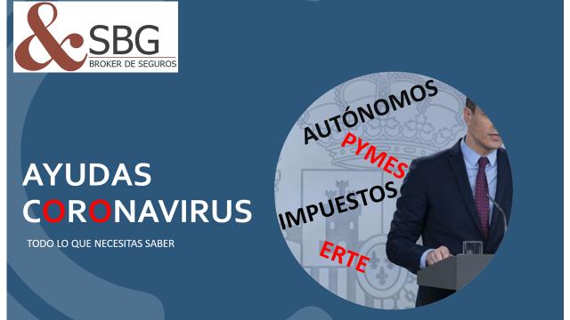 AYUDAS PARA AUTÓNOMOS Y PIMES POR EL CORONAVIRUS